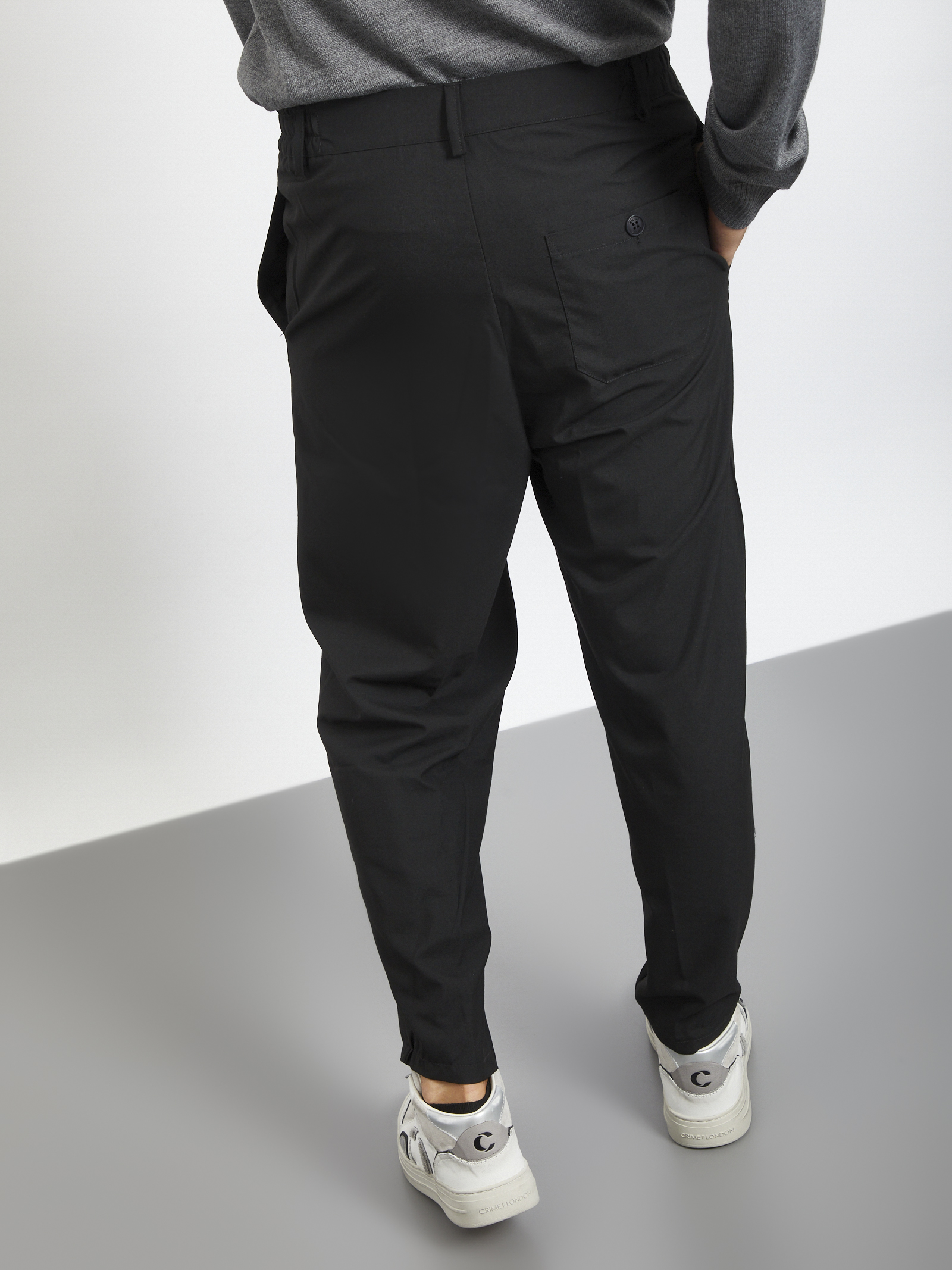 Pants fondo ampio BLACK CIRCUS | Pantaloni | PAU9071SNERO