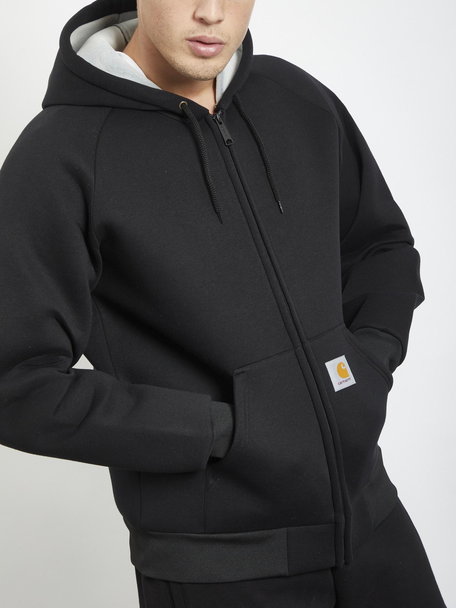 Car-Lux Hooded Jacket CARHARTT | Hoodies | I018044NERO