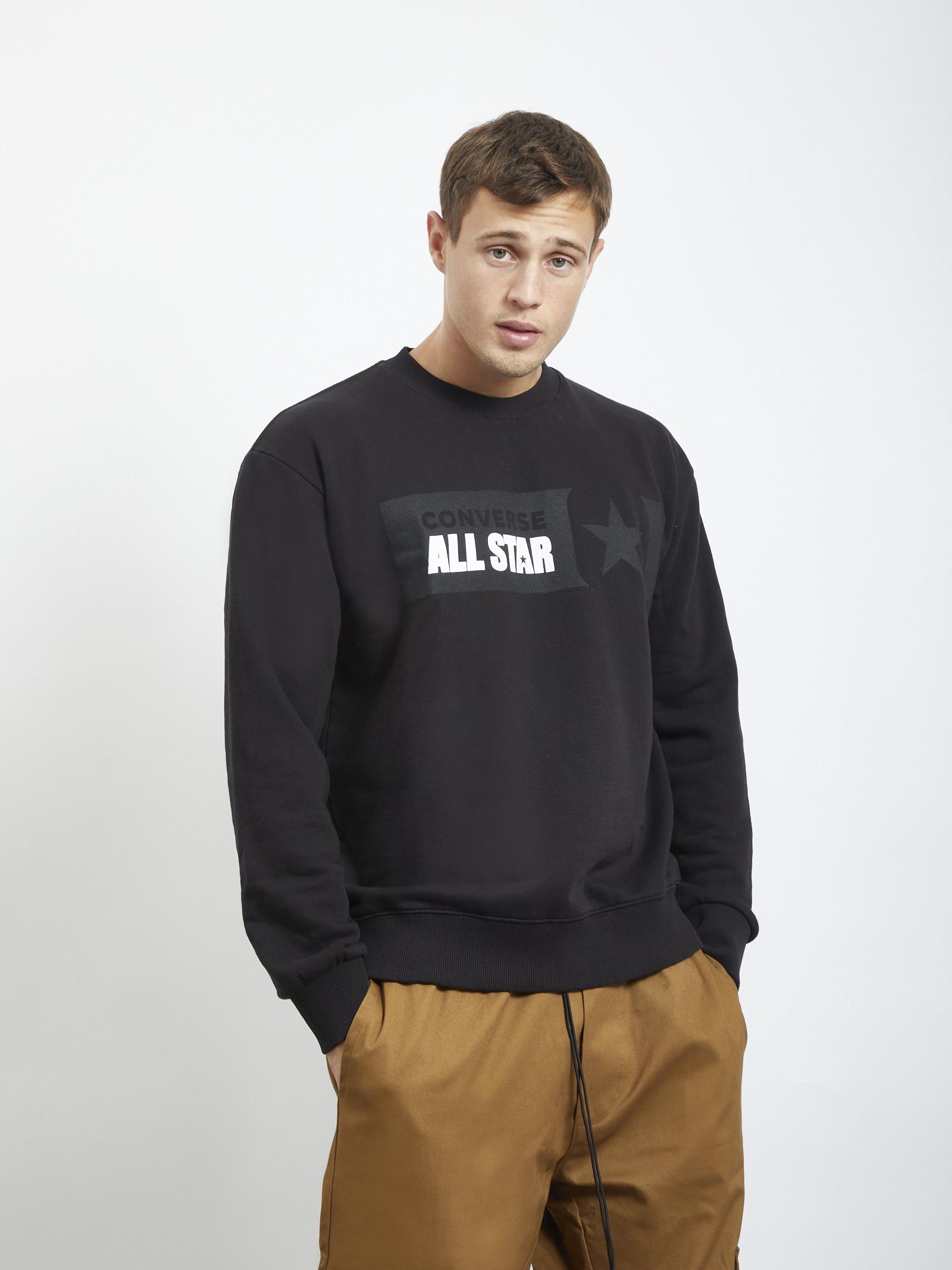 Sweater CONVERSE | Hoodies | 10021319NERO