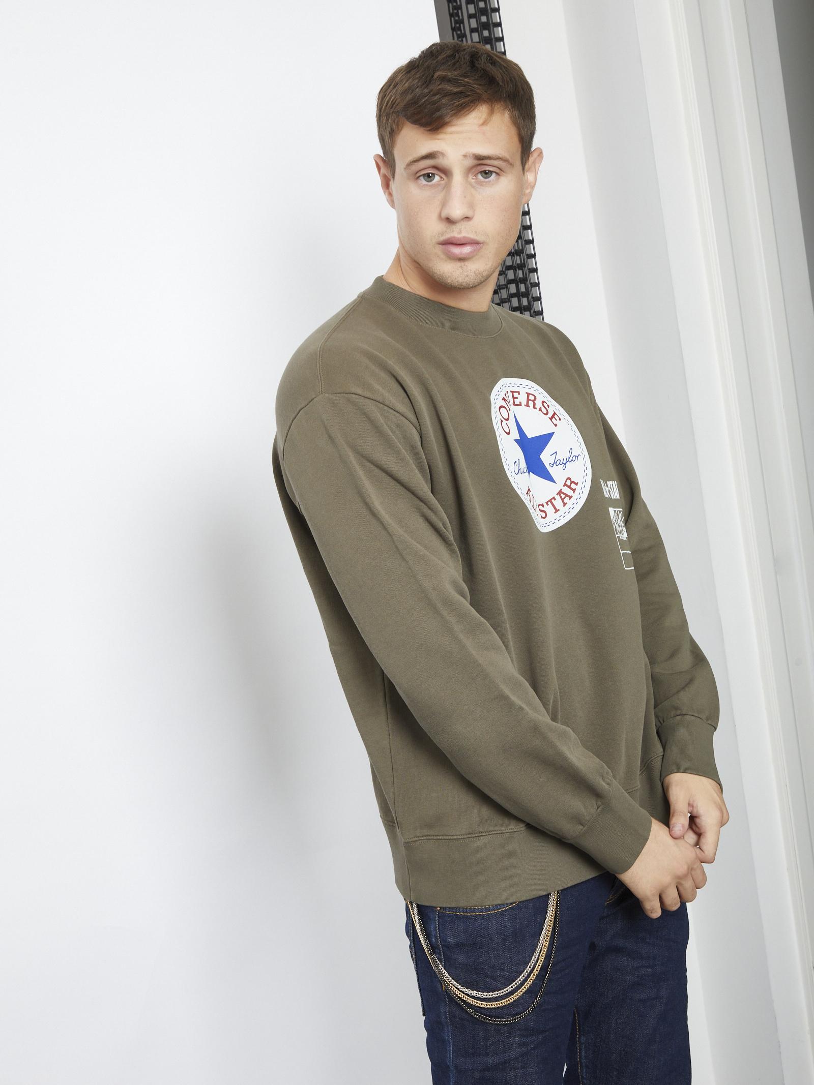 Sweater CONVERSE | Hoodies | 10021330MARRONE