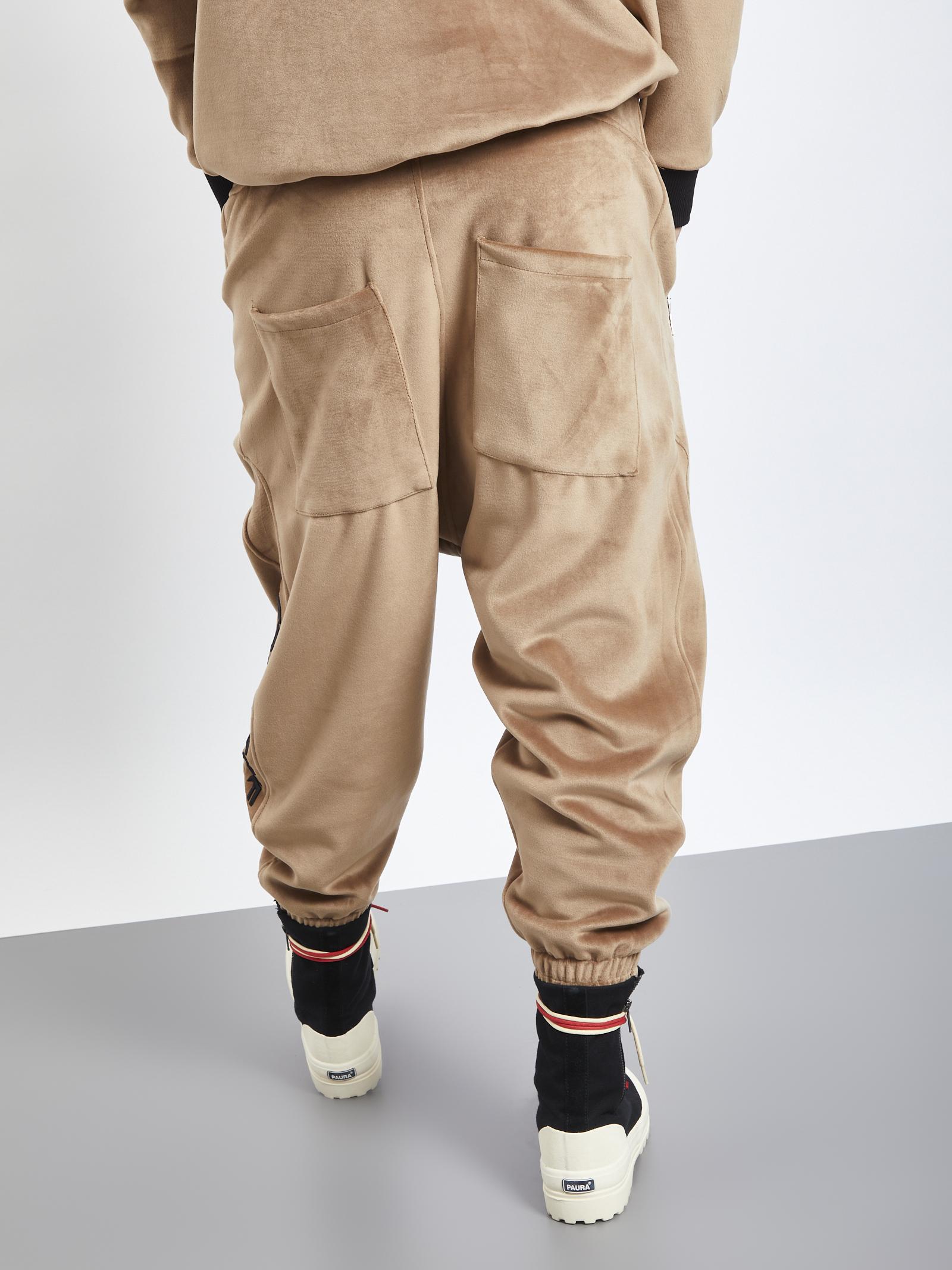GAVENSEMBLE | Trousers | PANT-333CUOIO