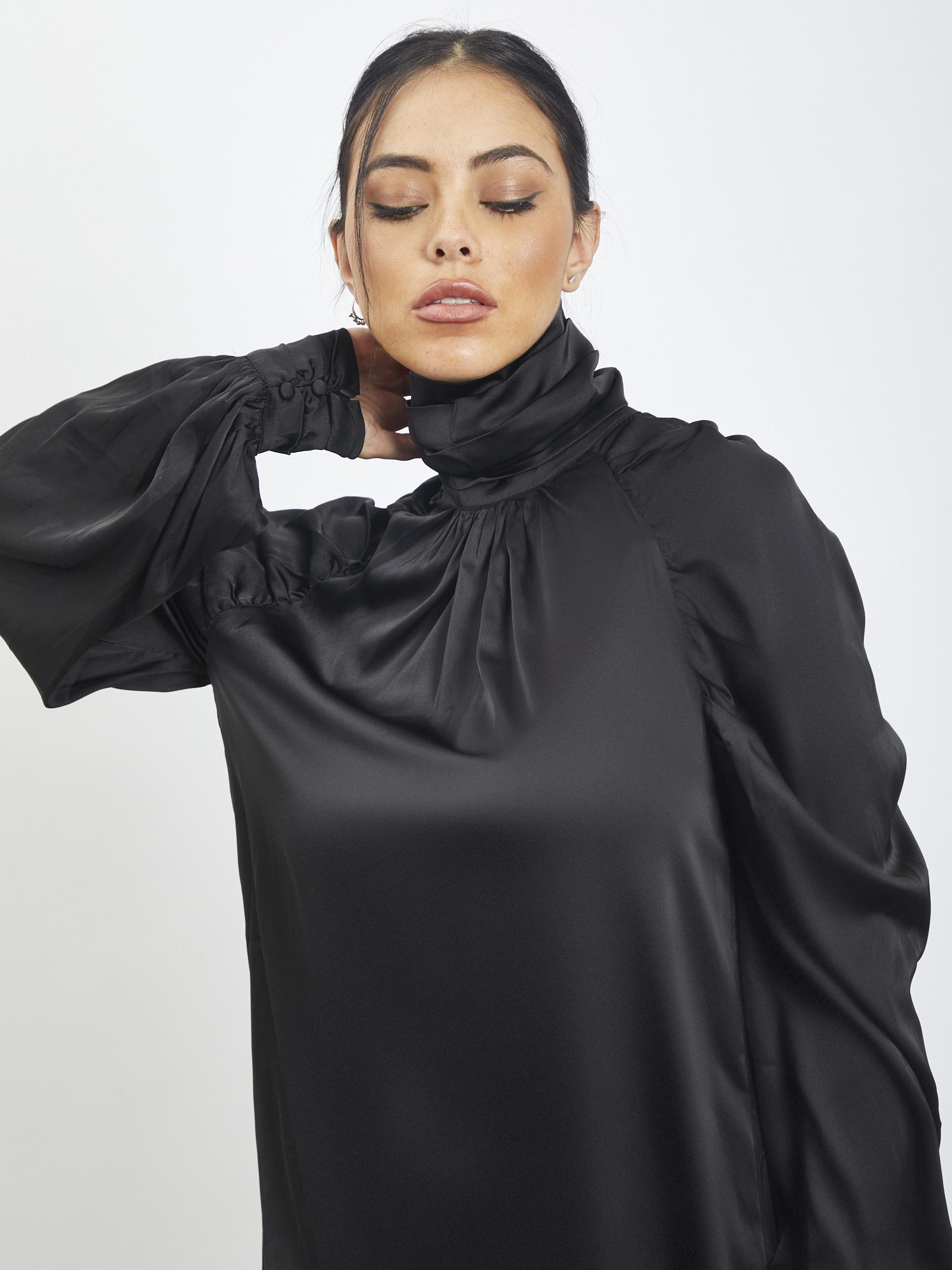 Dress in satin GLAMOROUS | dress | CK5939NERO