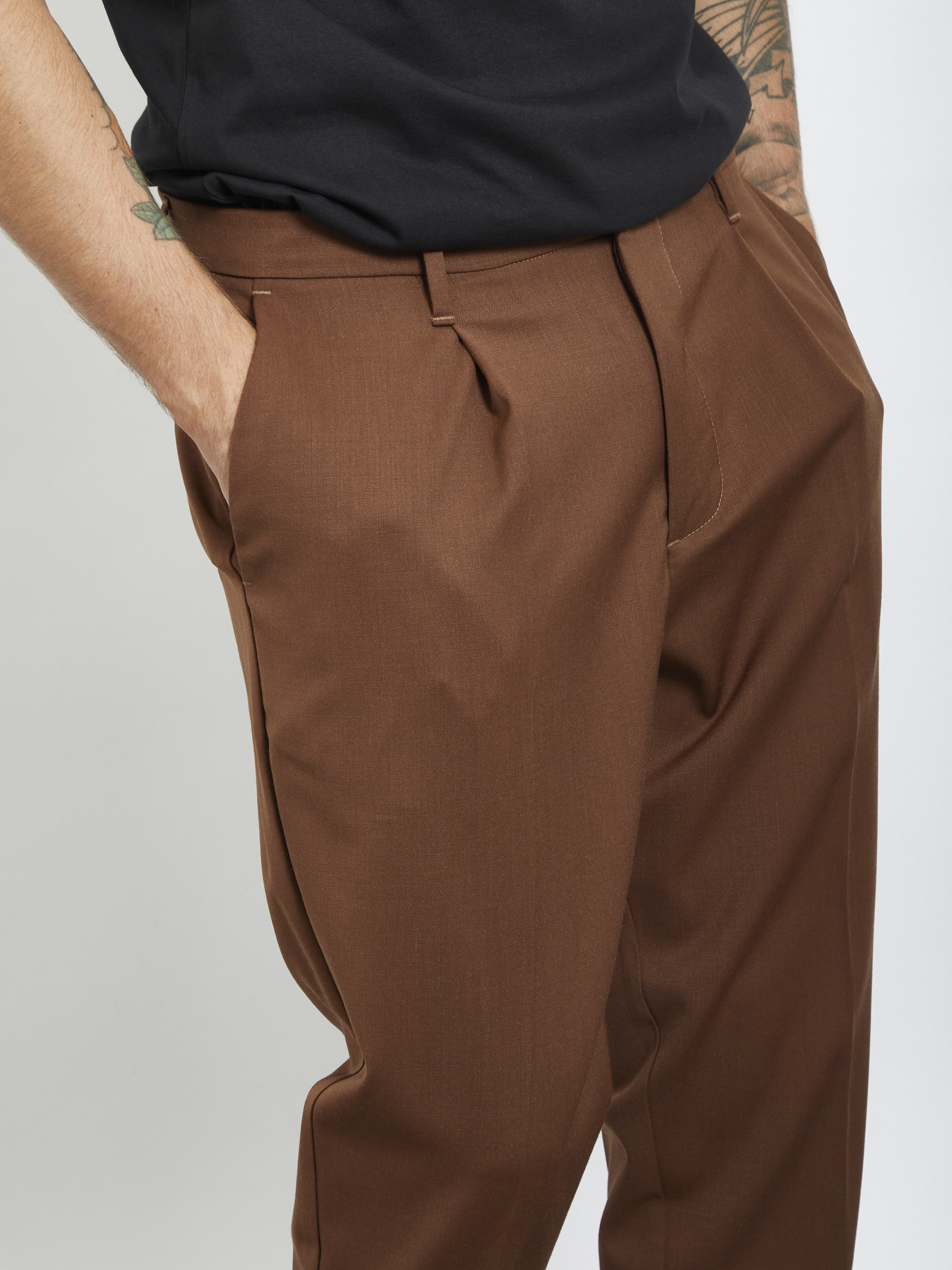 pants I'M BRIAN | Trousers | PA1501MARRONE