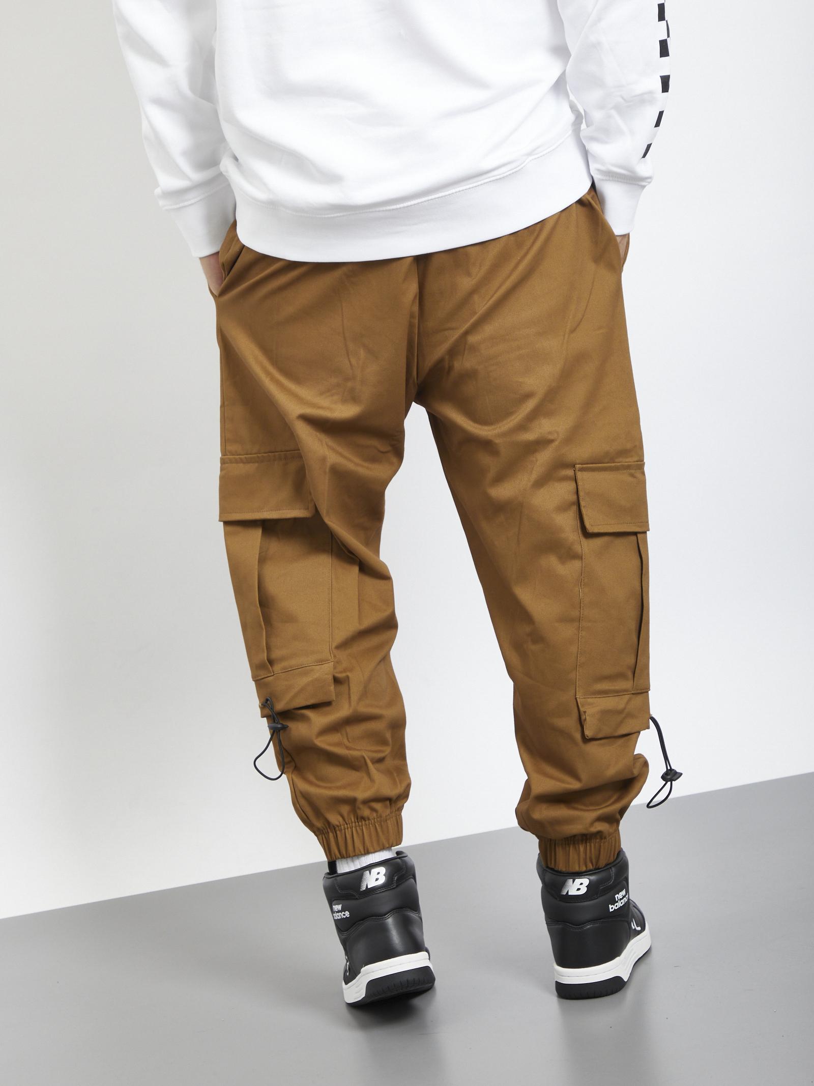 Cargo pants INSANITY | Trousers | INSA 164MARRONE