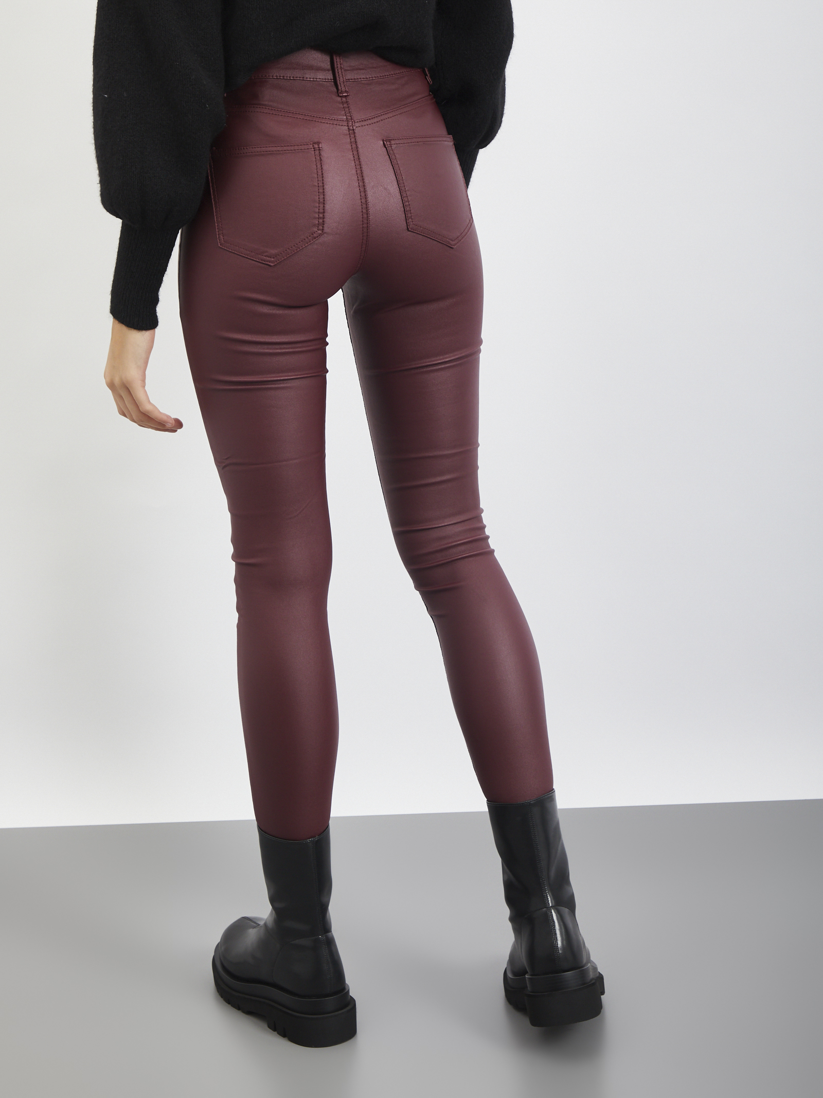 PANTS NOISY MAY | Pantaloni | 27013113BORDEAUX