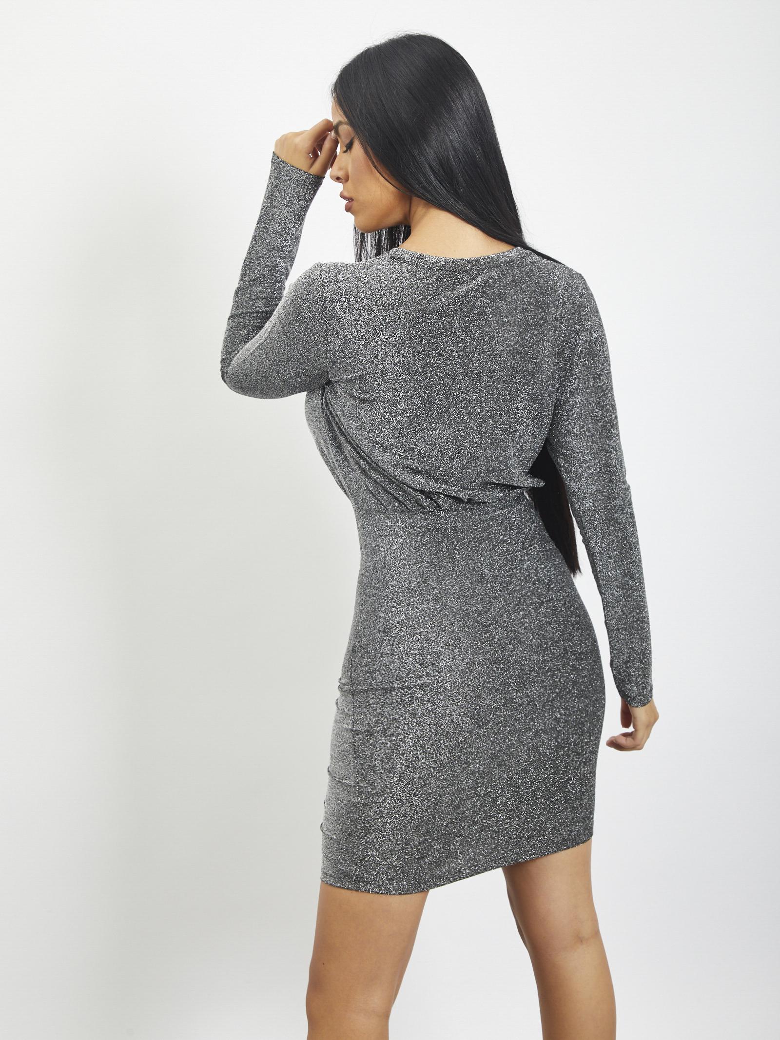 dress PIECES | dress | 17108648ARGENTO
