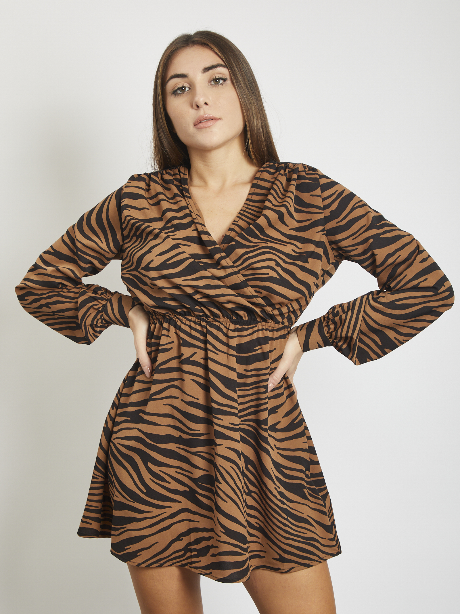 Dress REVISE | dress | RI20117MARRONE