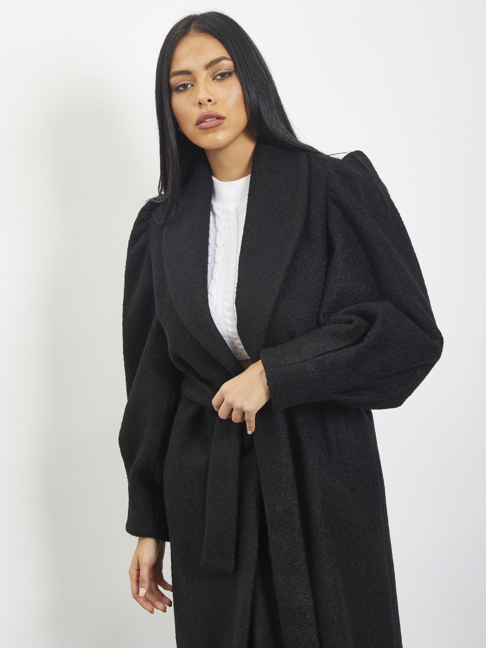 Coat REVISE | Coat | RI20186NERO