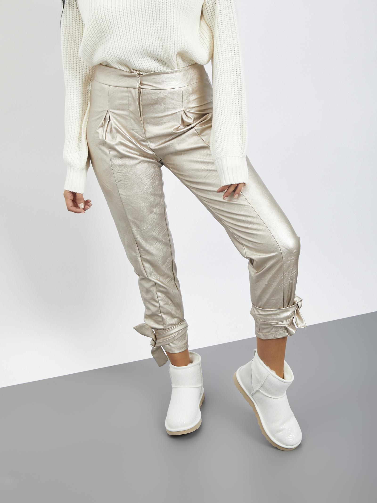 Pants laminato URINK | Pantaloni | KRISTAL PANTSORO