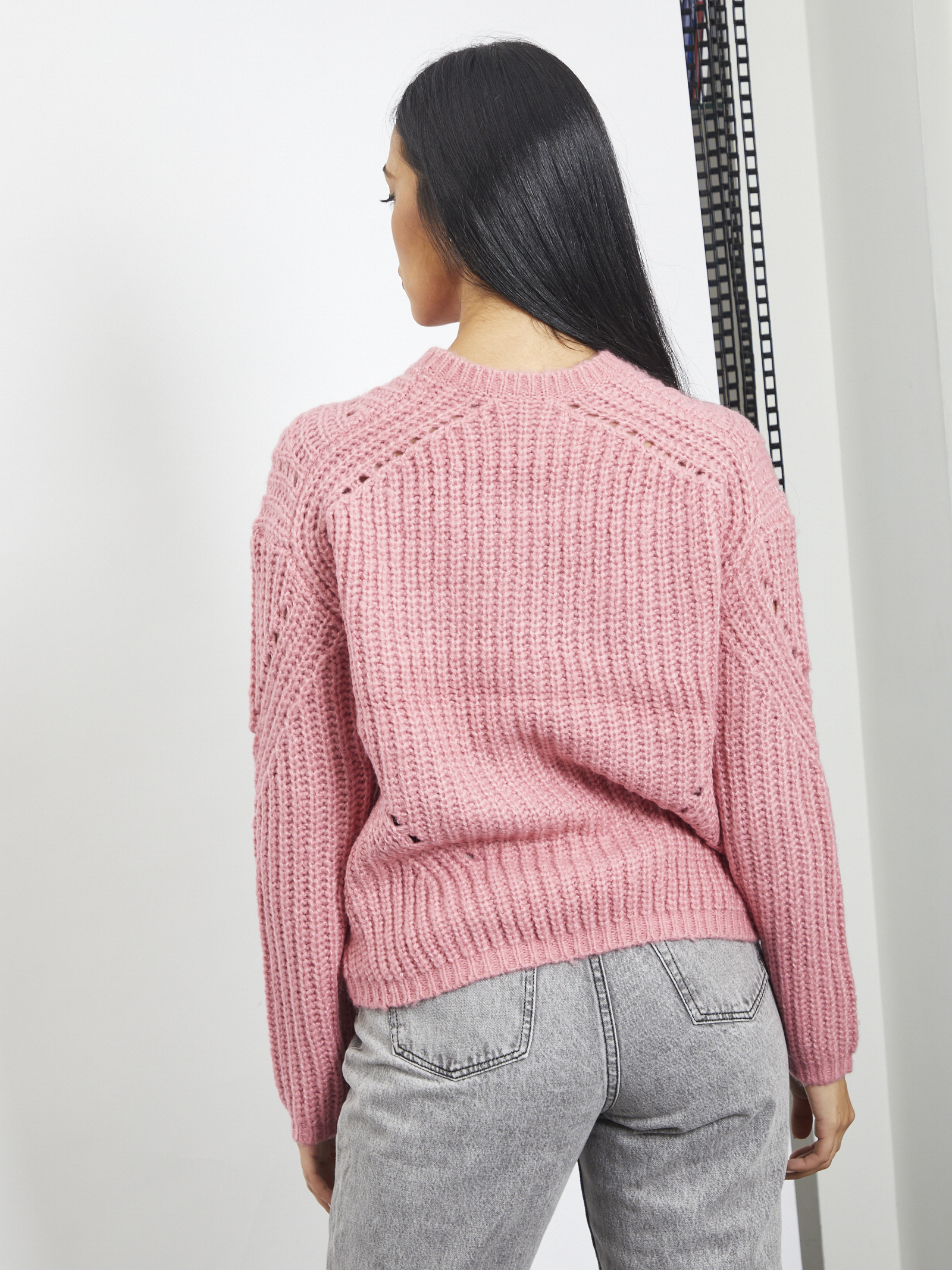Pull VERO MODA   Sweaters   10231489ROSA