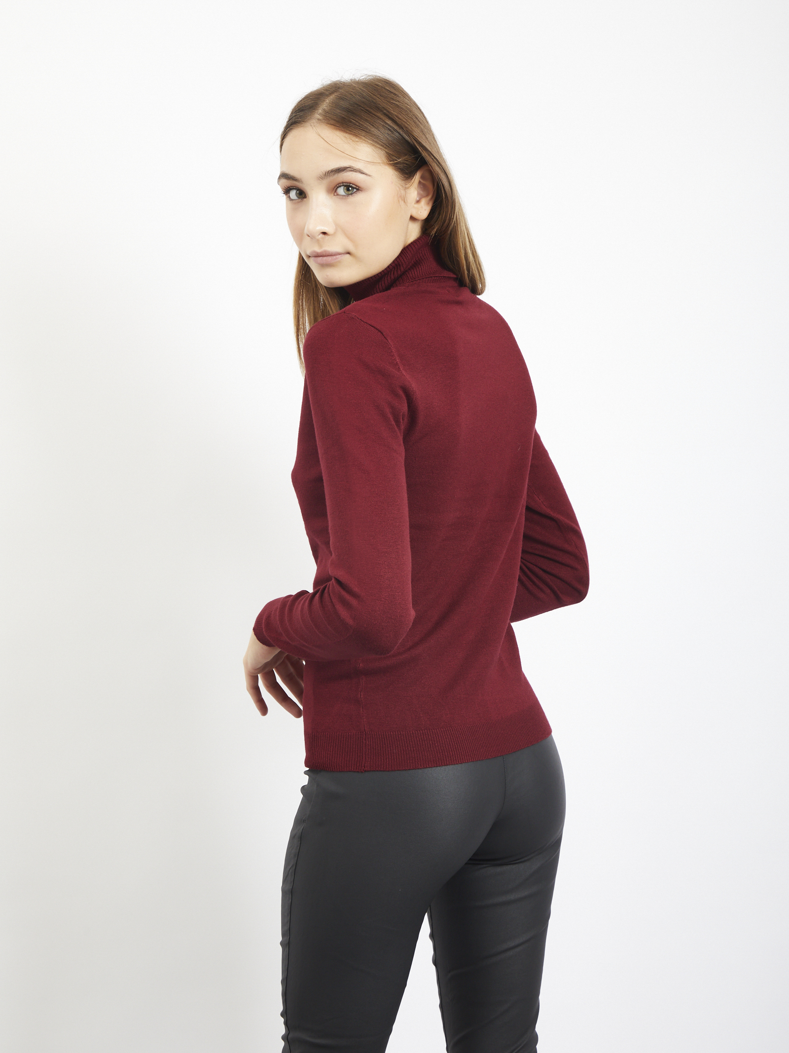 Pull VERO MODA | Sweaters | 10235983BORDEAUX
