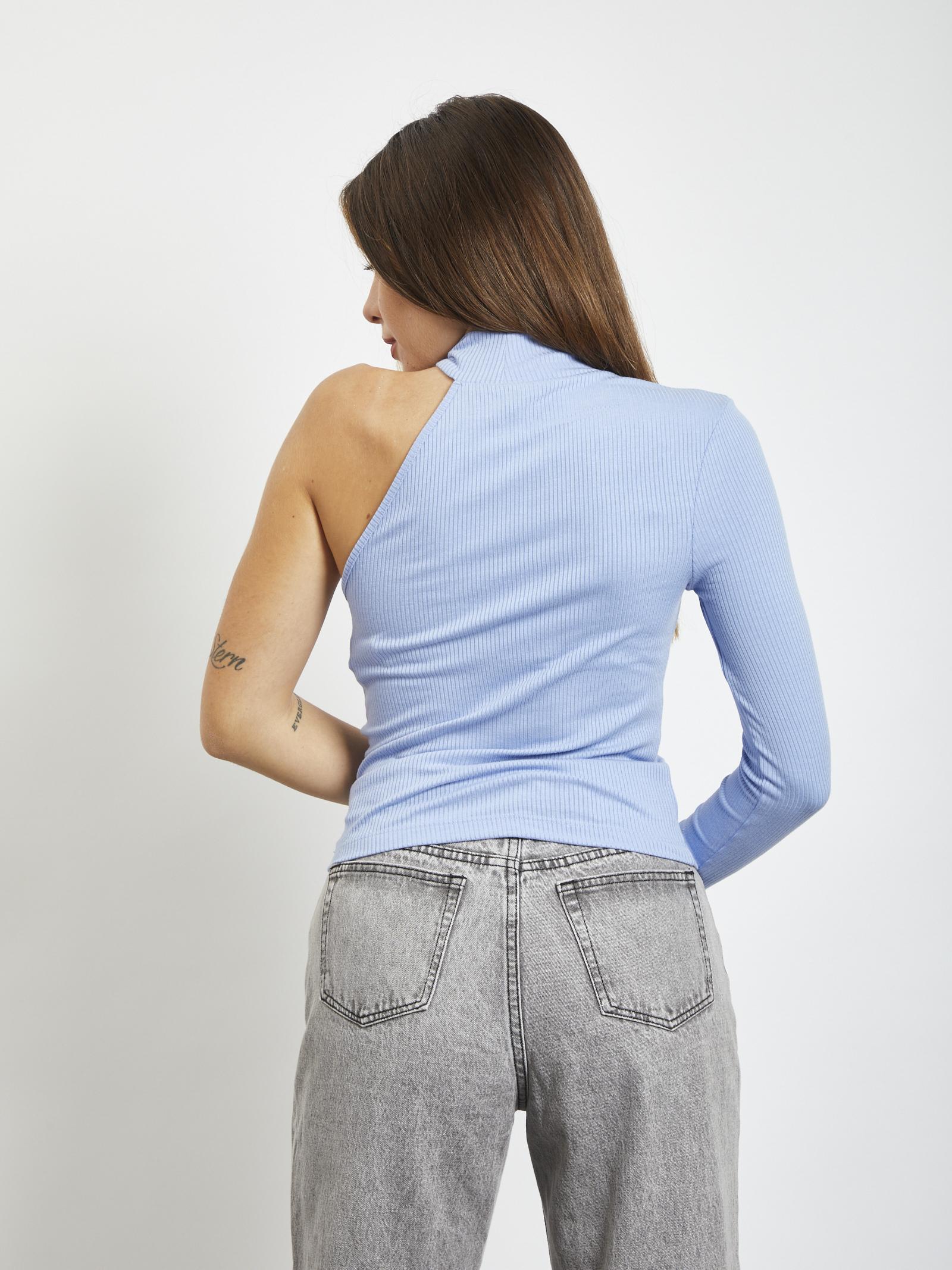 one-shoulder sweater VERO MODA | Sweaters | 10246535CELESTE