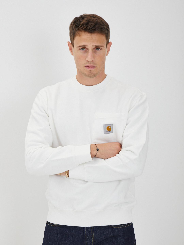 Sweatshirt CARHARTT   Hoodies   I027681BIANCO