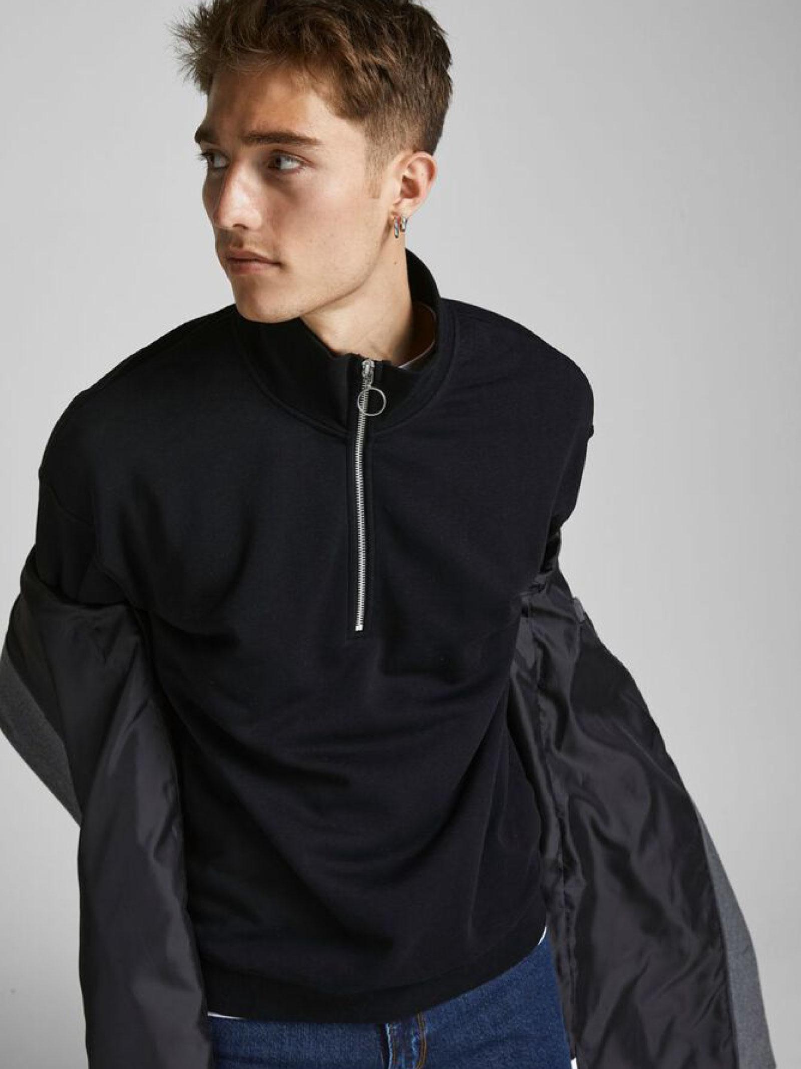 Sweatshirt JACK & JONES | Hoodies | 12195145NERO