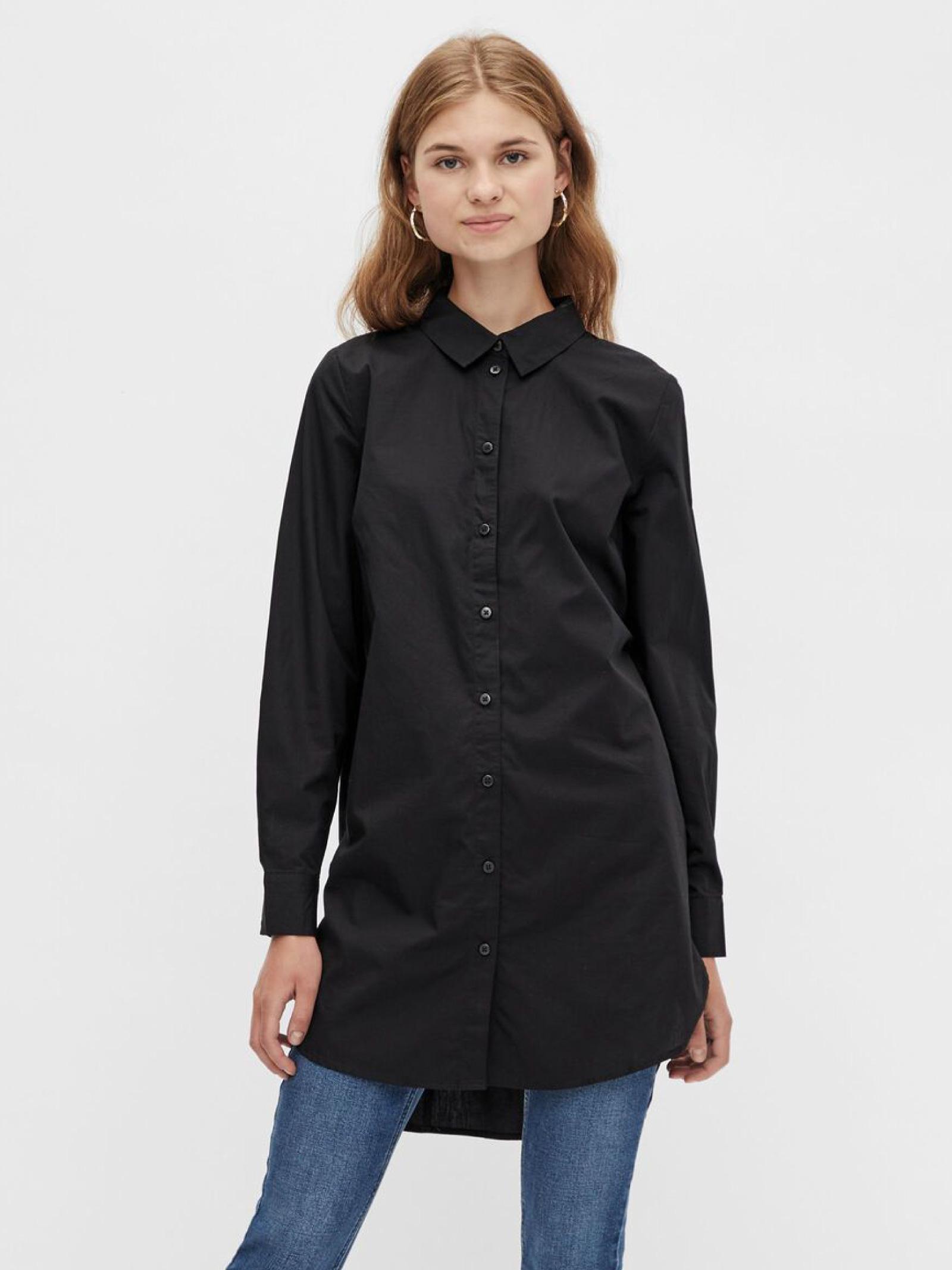 Shirt PIECES   Shirts   17105939NERO