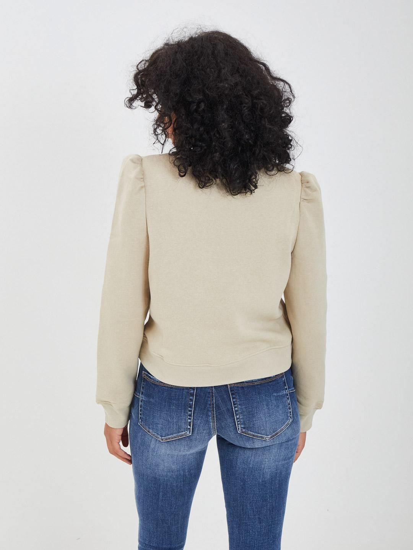 Sweatshirt PIECES | Hoodies | 17115898BEIGE