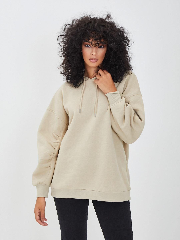 Sweatshirt PIECES   Hoodies   17115899BEIGE