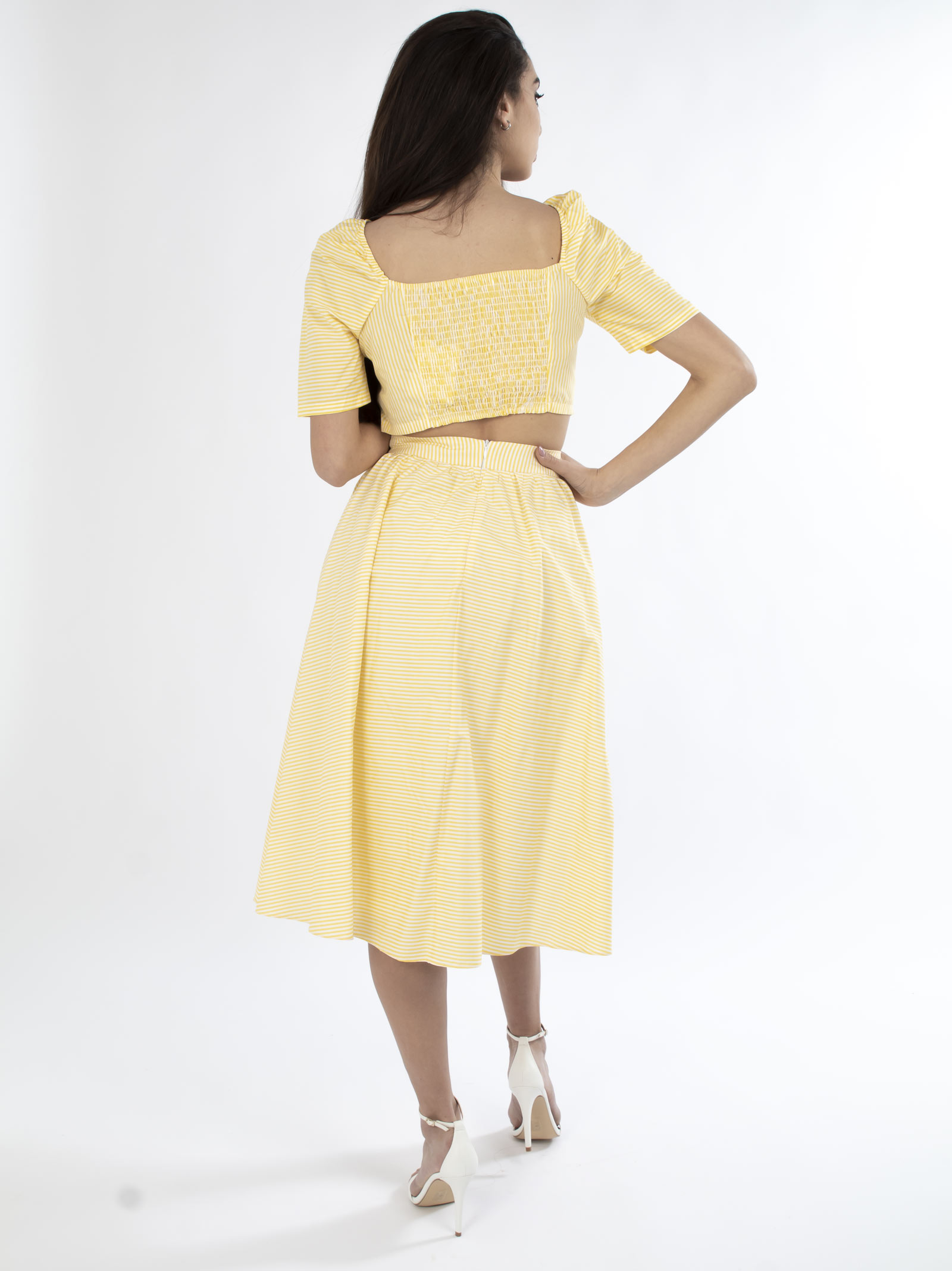 Gonna lunga GLAMOROUS | Gonne | AN3742GIALLO