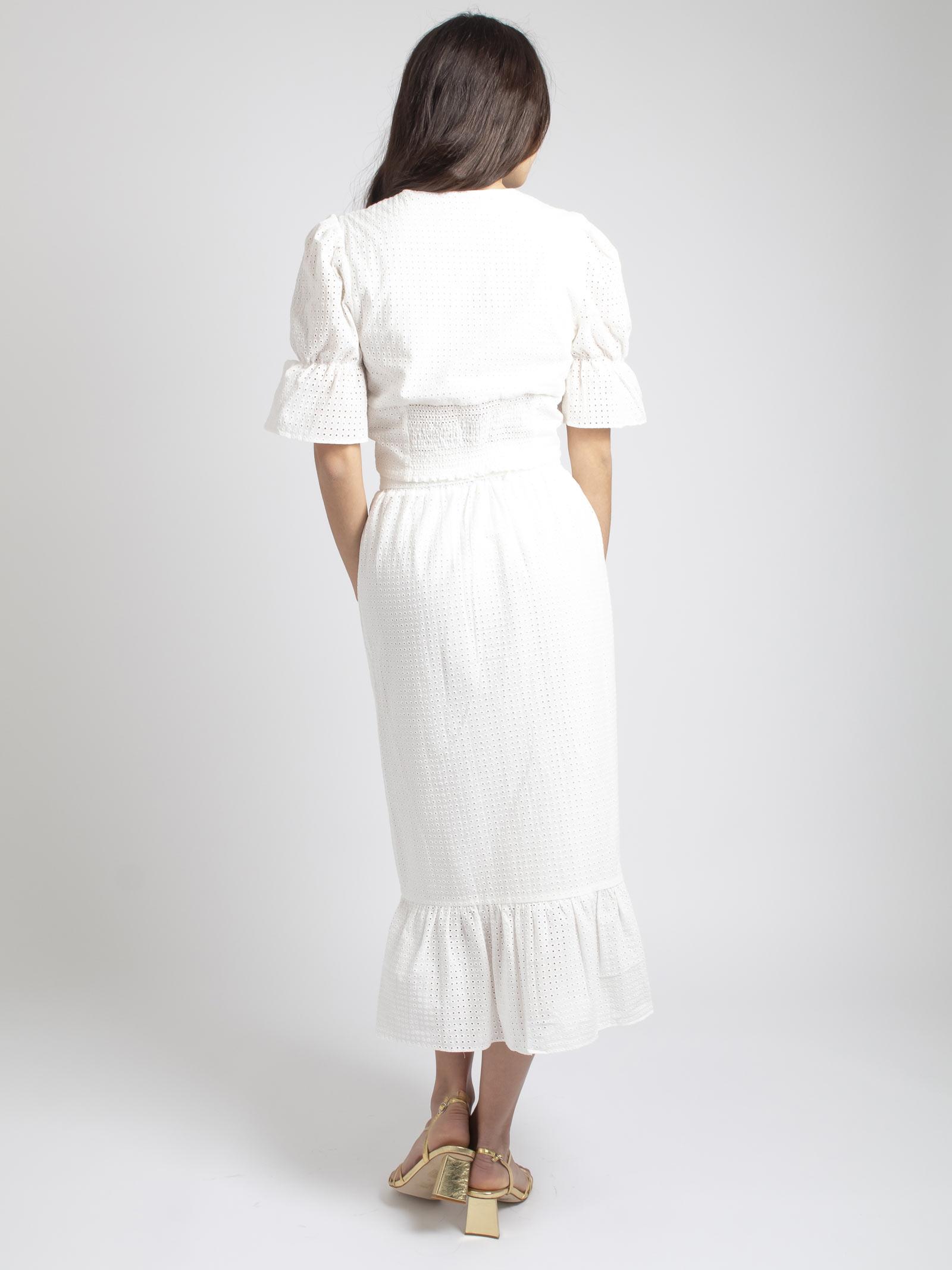 GLAMOROUS | Skirt | GC0258BIANCO