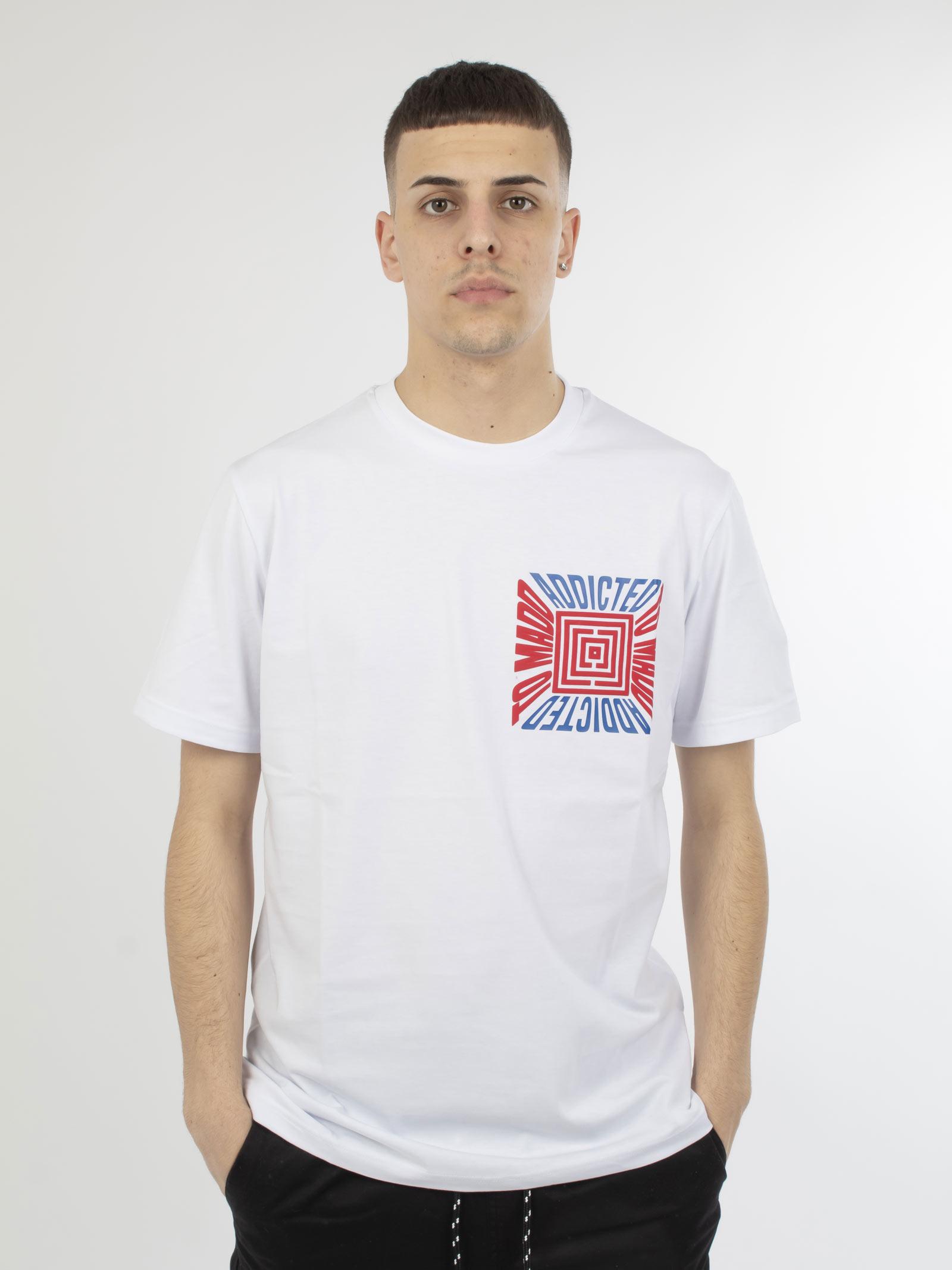 t-shirt MADD | T-shirt | U1161BIANCO
