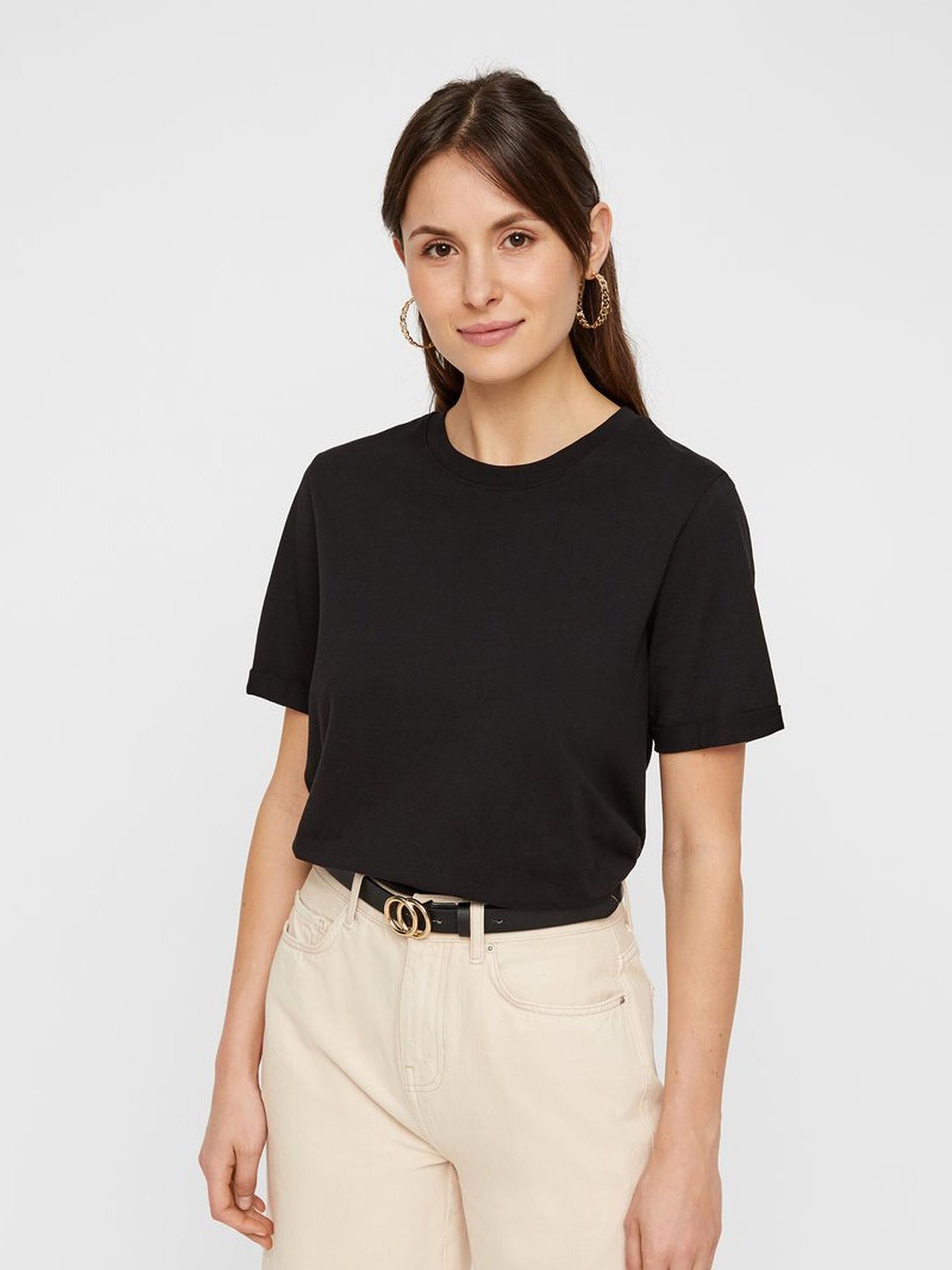 T-SHIRT BASIC PIECES   T-shirt   17088970NERO