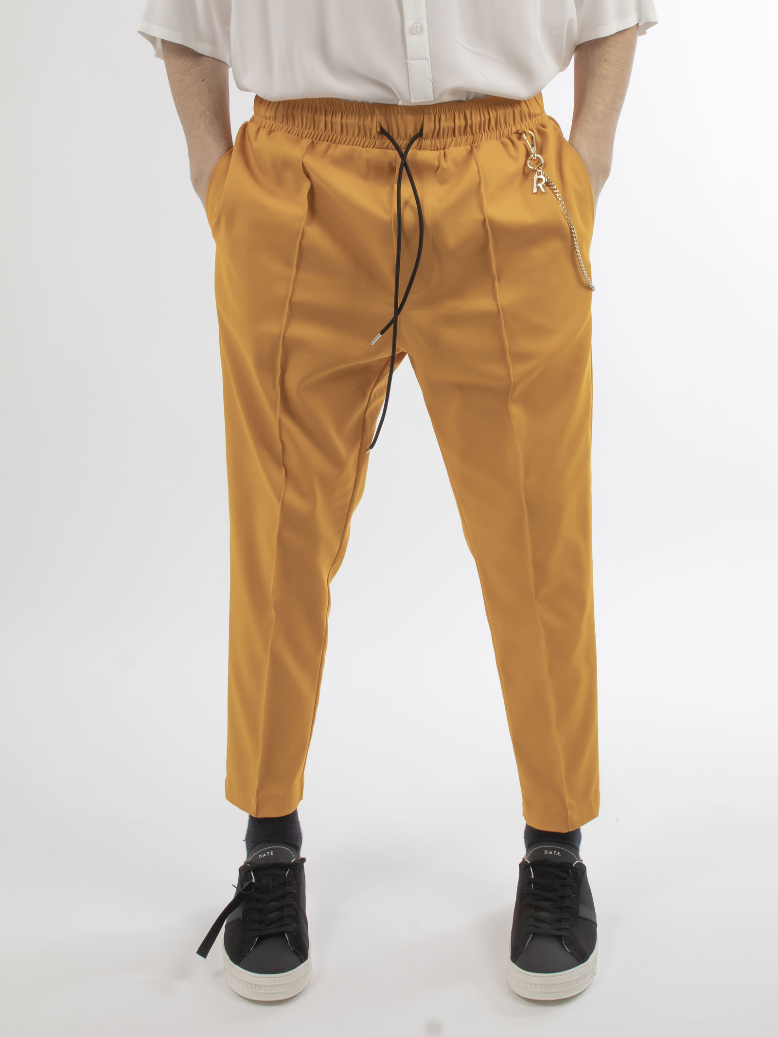 pantalone REVER | Pantaloni | RV96120UGIALLO