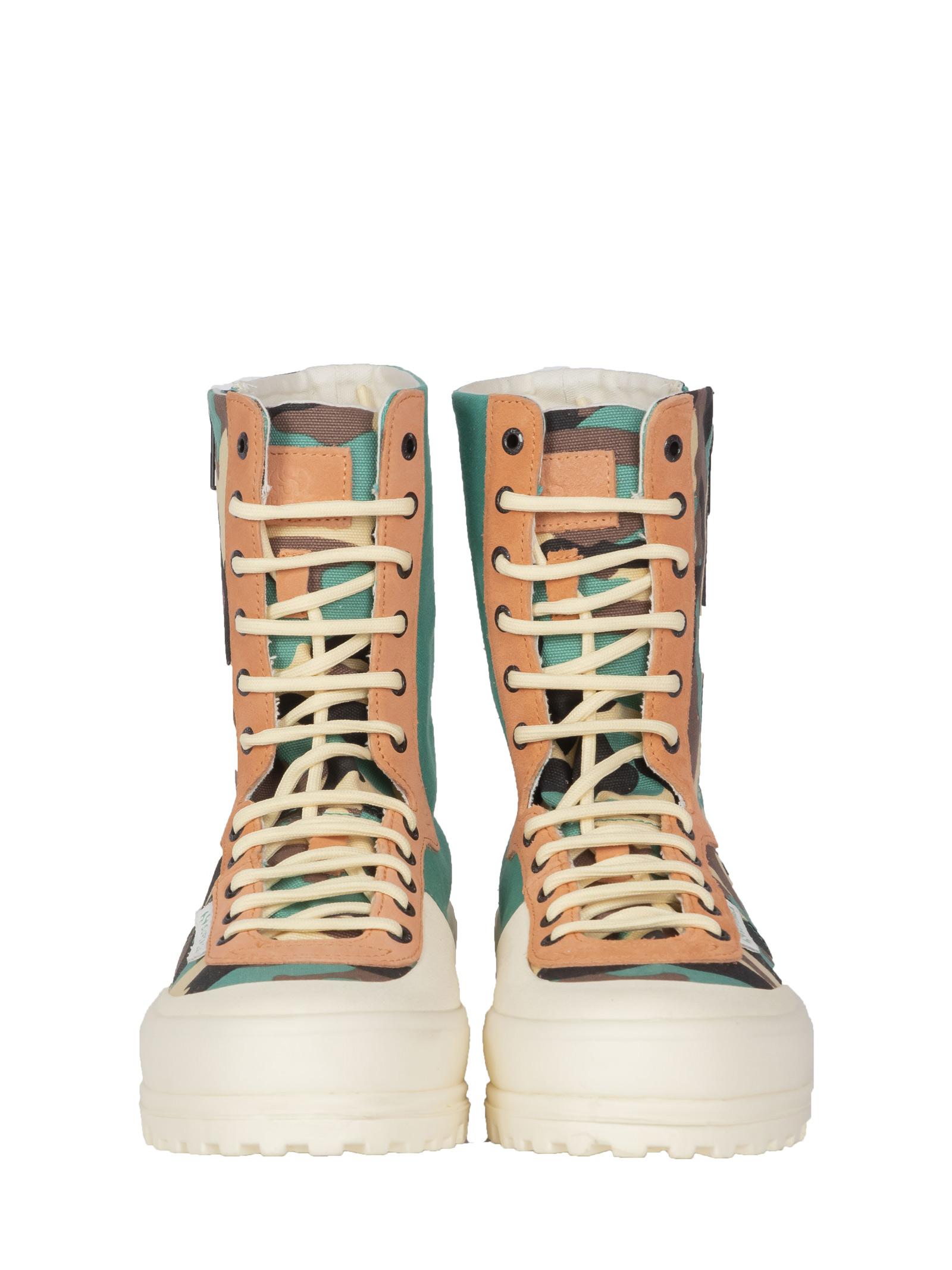 Alpina mid camo SUPERGA PER PAURA | Sneakers | 2360 COTFANUCAMOUFLAGE