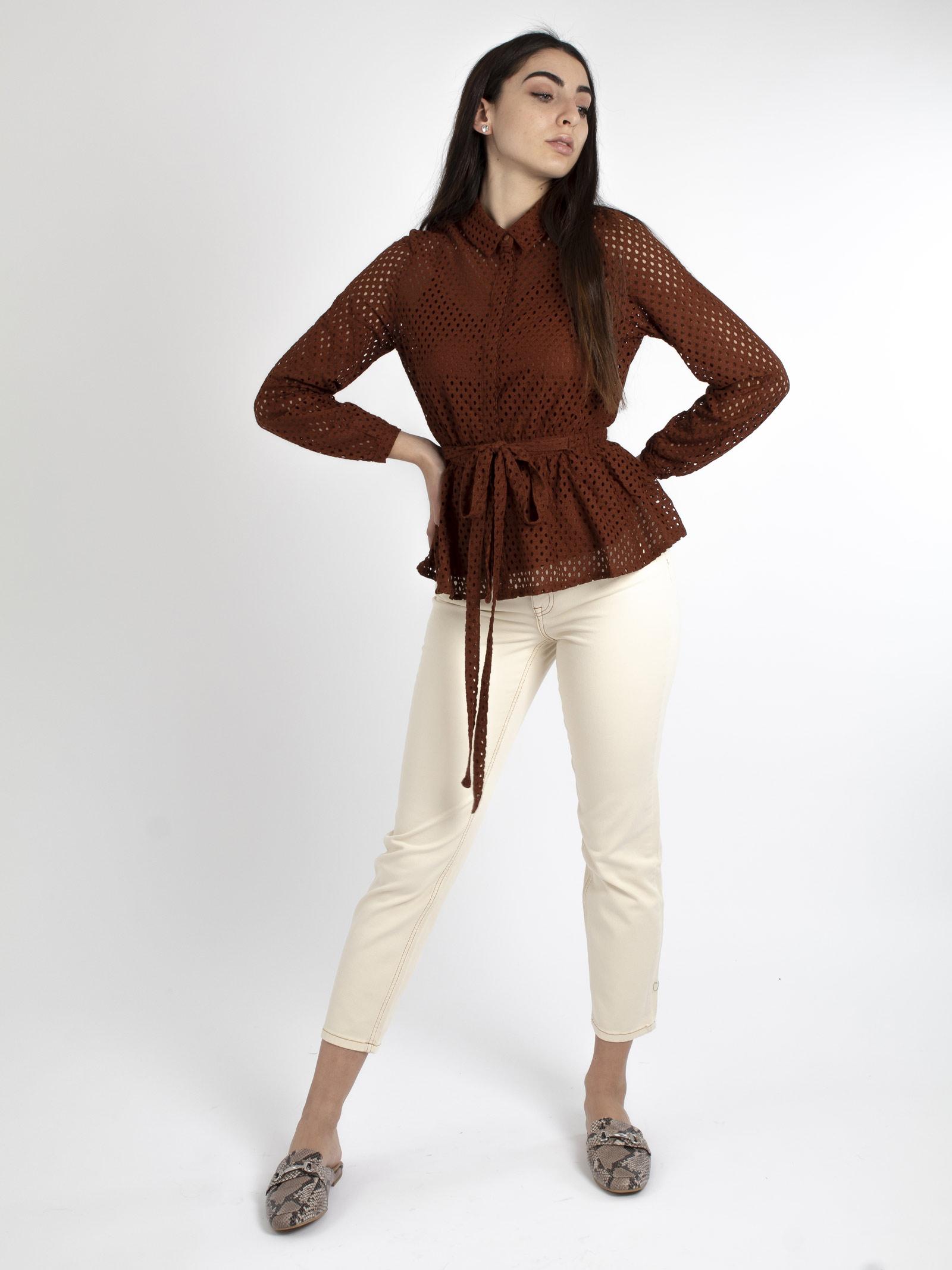Camicia VERO MODA | Camicie | 10226339MARRONE