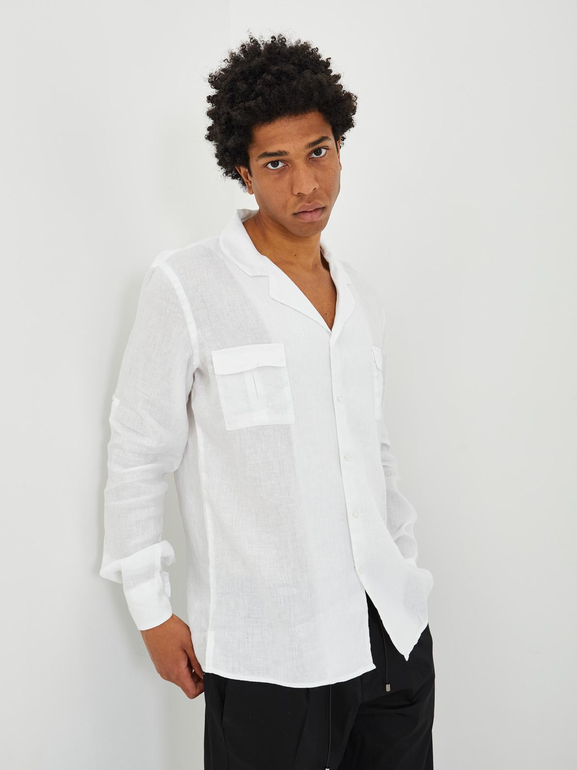 Shirt BLACK CIRCUS   Shirts   CAU7025EBIANCO