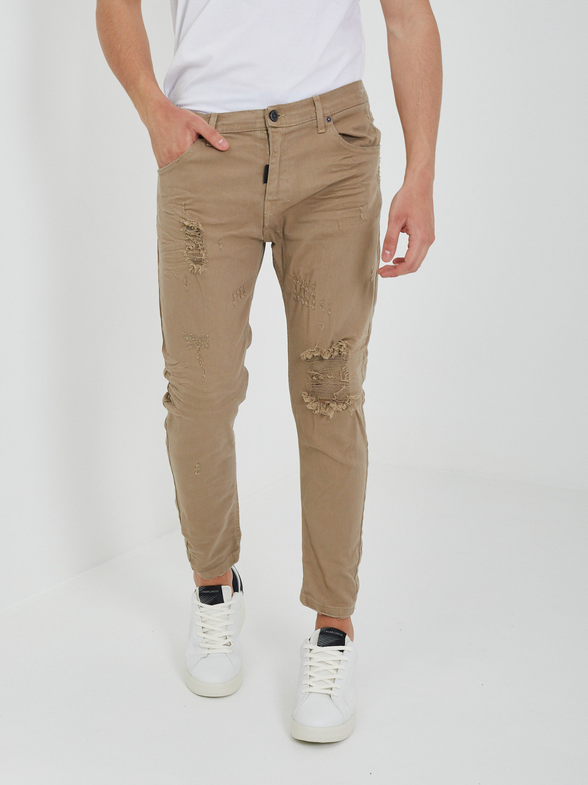 Jeans BLACK CIRCUS | Jeans | JSU408GBEIGE