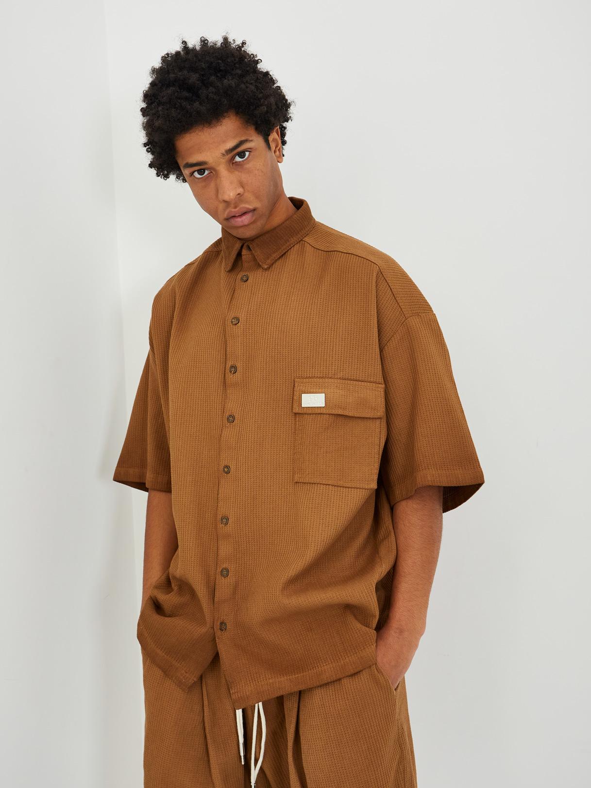 Shirt GAVENSEMBLE | Shirts | CAM 500MARRONE