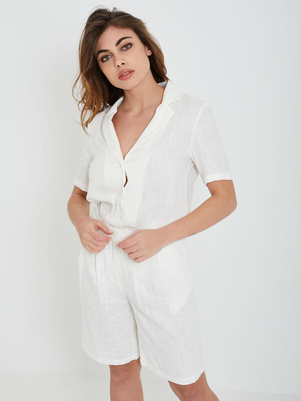 Shirt GLAMOROUS | Shirts | CK6077BIANCO