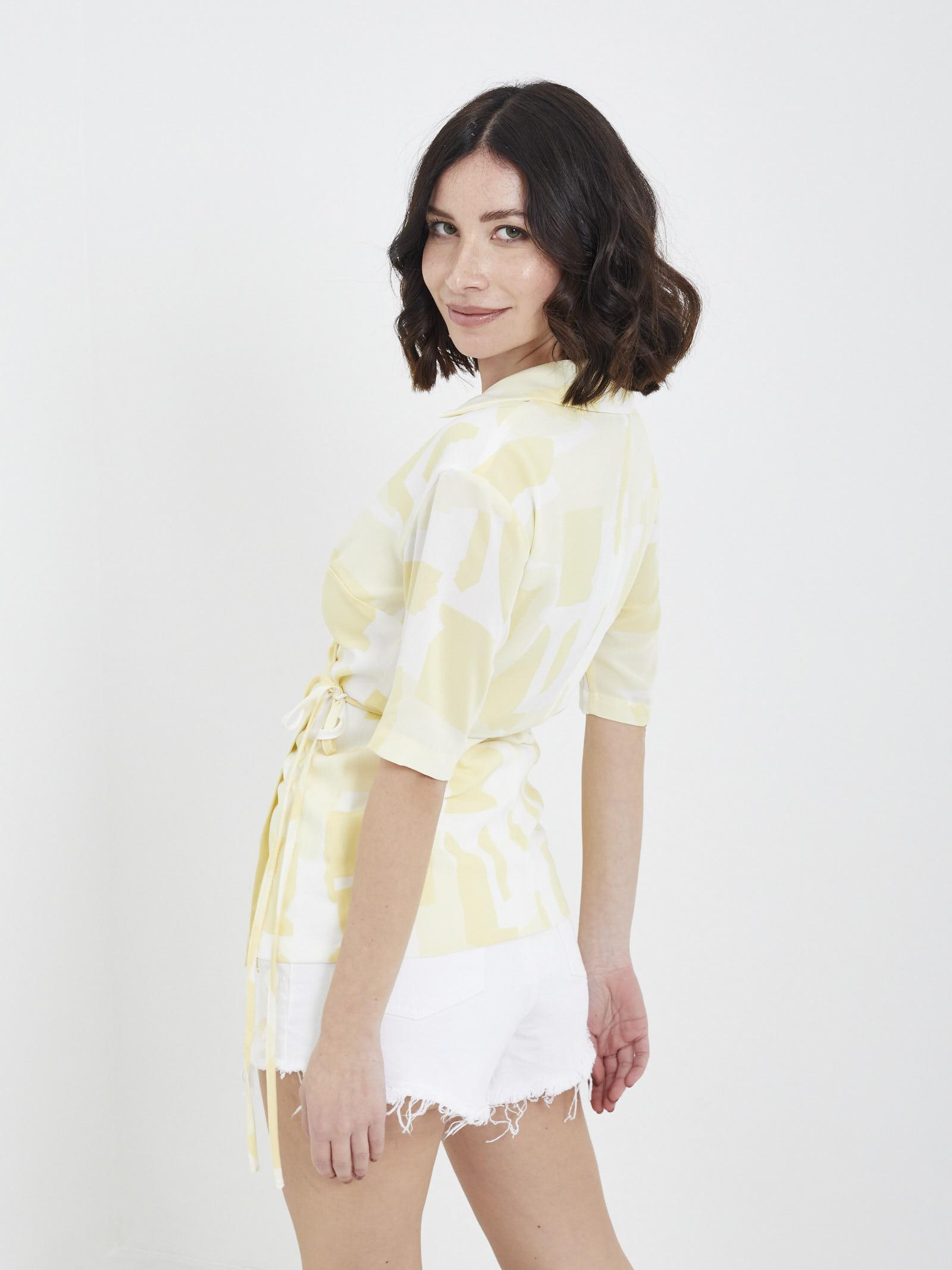 Camicia GLAMOROUS | Camicie | GS0299GIALLO