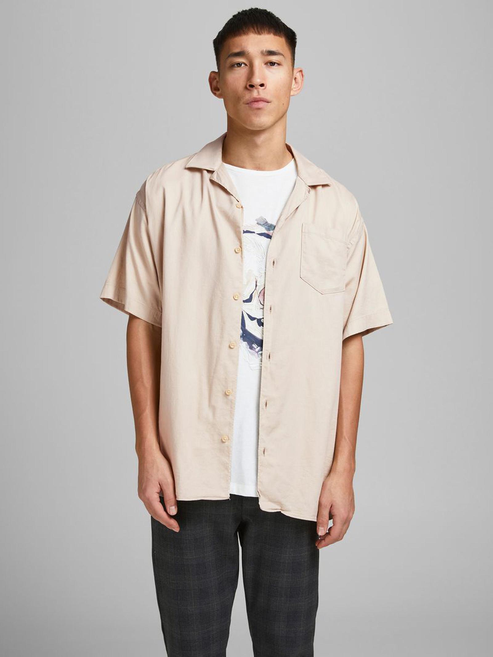 Shirt JACK & JONES | Shirts | 12183614BEIGE