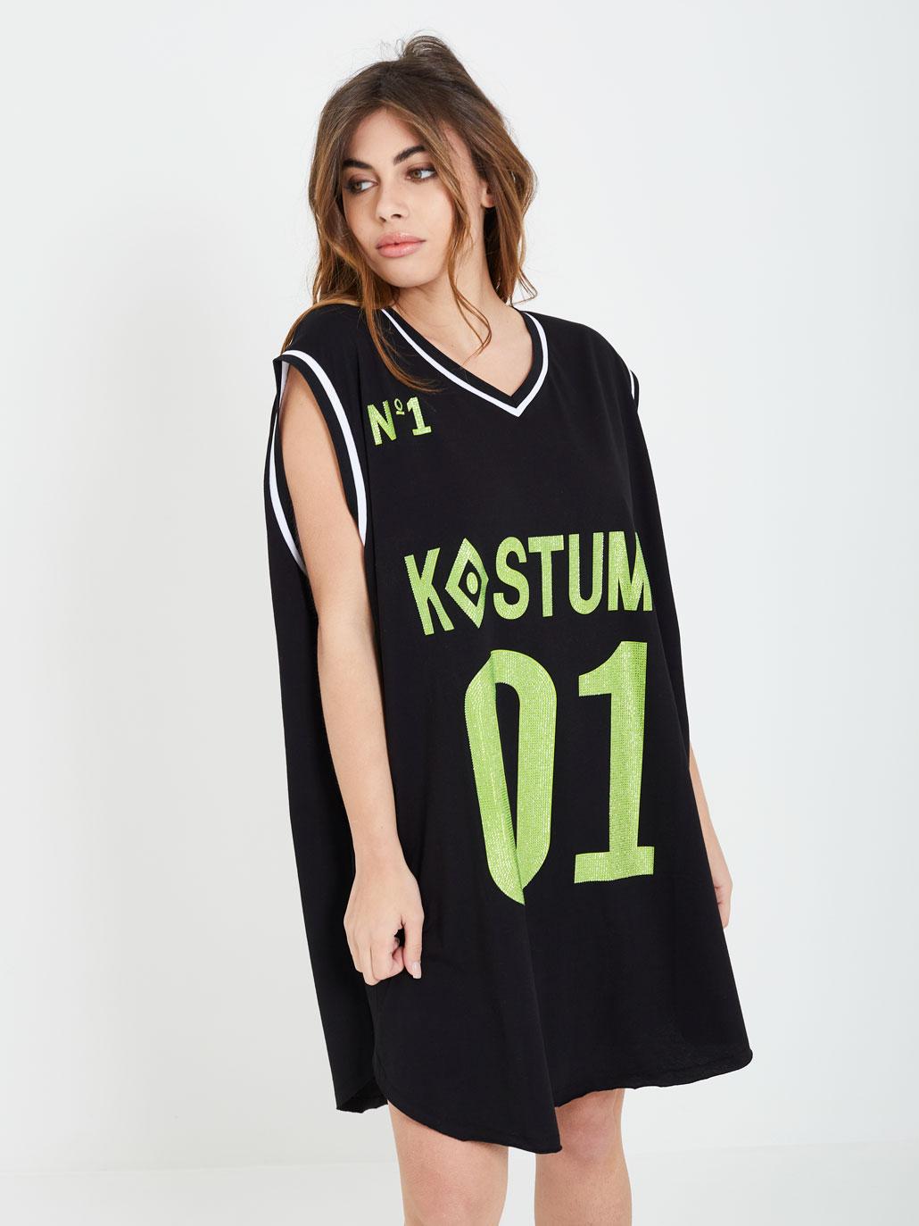maxi-tank top KOSTUMN   dress   KE21122NERO