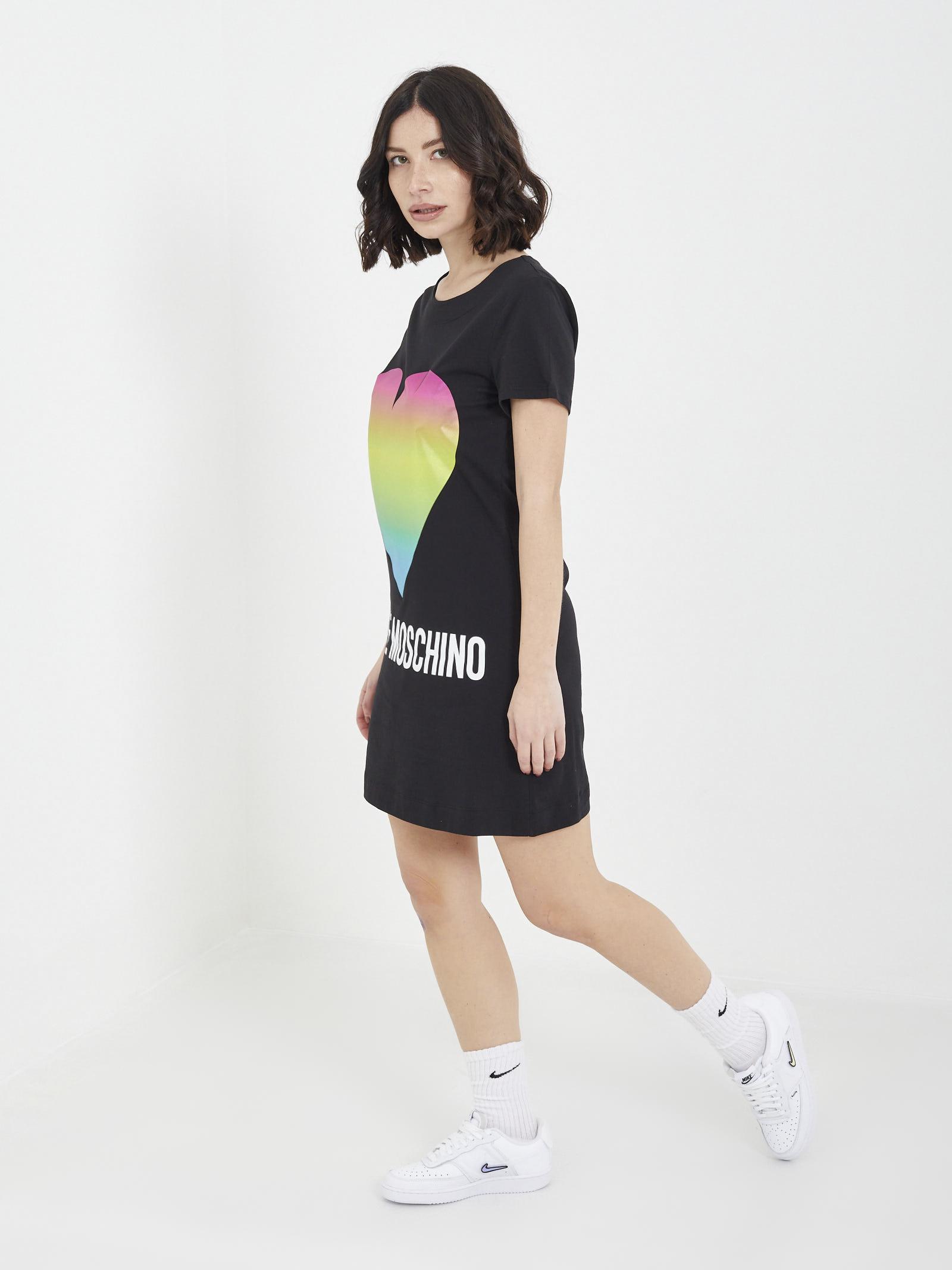maxi-shirt MOSCHINO | dress | W5929 14 MNERO
