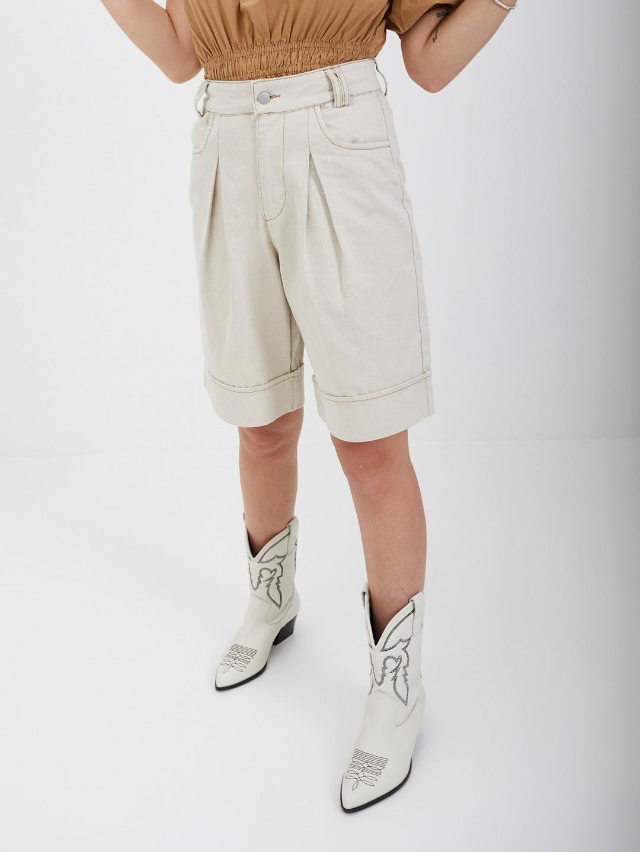 Short VERO MODA | Shorts | 10245262BEIGE