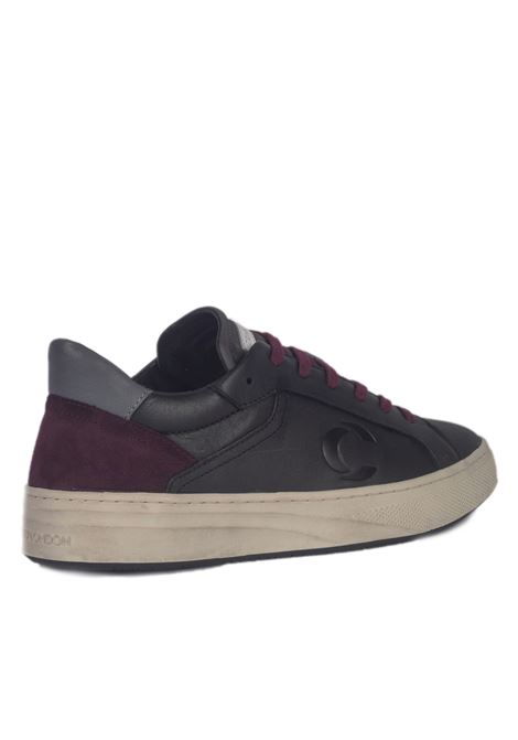 Crime London CRIME | Sneakers | 11301AA2.20NERO/BORDEAUX