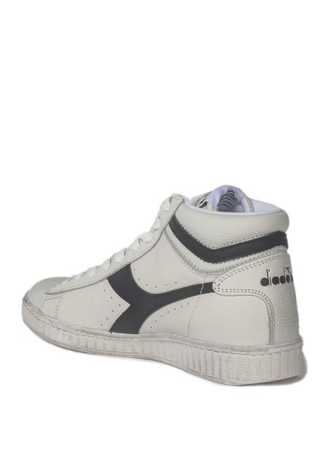 Diadora Game L High Waxed DIADORA | Sneakers | 501.159657BIANCO/NERO