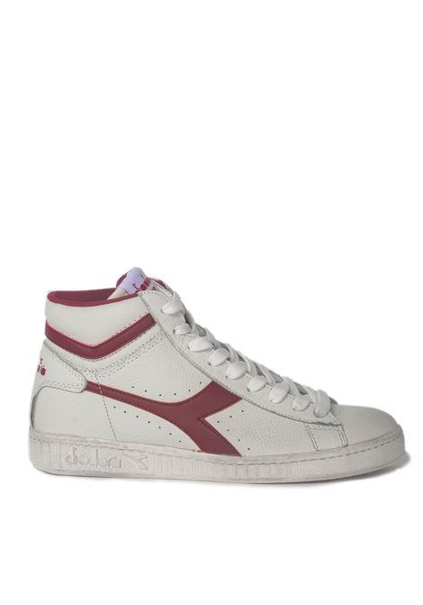 Diadora Game L High Waxed DIADORA | Sneakers | 501.159657BIANCO/ROSSO