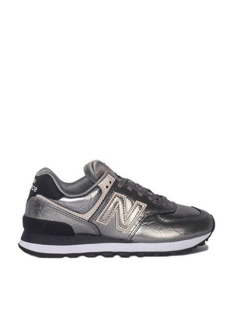 New Balance 574 NEW BALANCE | Sneakers | NBWL574WNEARGENTO