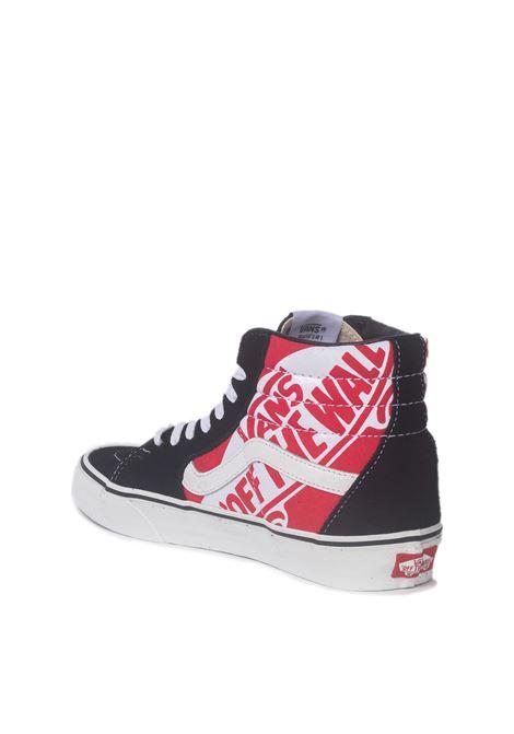 Vans sk8-hi VANS | Sneakers | VN0A4BV6V3T1NERO/ROSSO