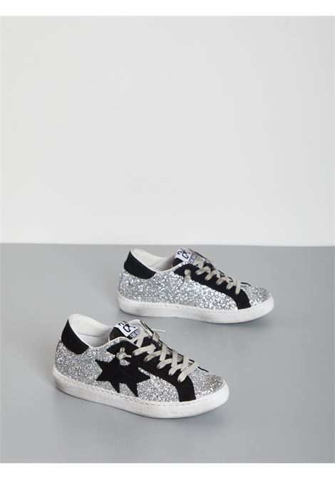 SNEAKERS 2 STAR | Sneakers | 2SD2845ARGENTO