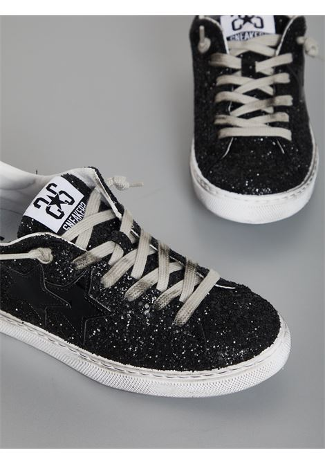 SNEAKERS 2 STAR | Sneakers | 2SD2846NERO