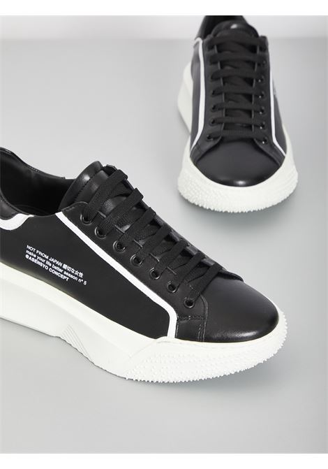 Sneakers in pelle ASENSYO | Sneakers | AS15 VERS 1NERO