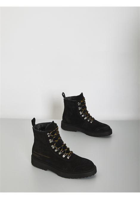 Boots neri ASENSYO | Anfibi | BOOTS CAMOSCIONERO