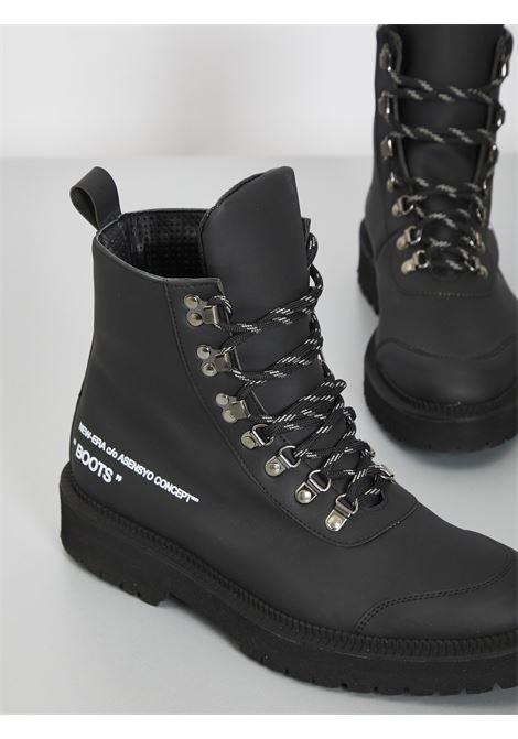 Boots neri ASENSYO | Anfibi | BOOTS GOMMATONERO