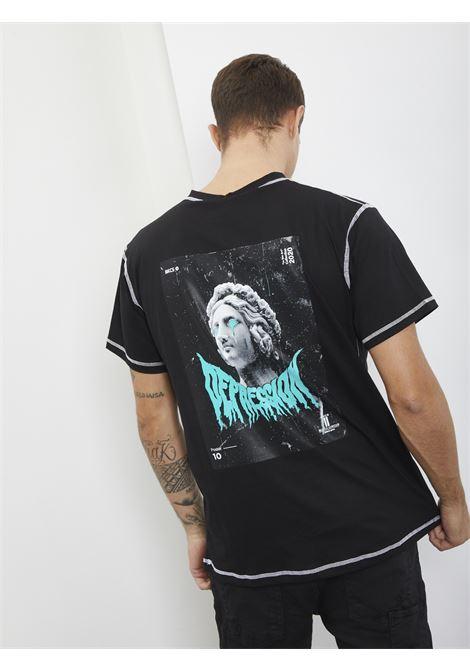 T-shirt con stampa BLACK CIRCUS | T-shirt | TSU9057SNERO