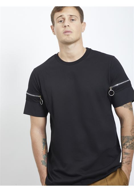 T-shirt con zip BLACK CIRCUS | T-shirt | TSU9058FNERO