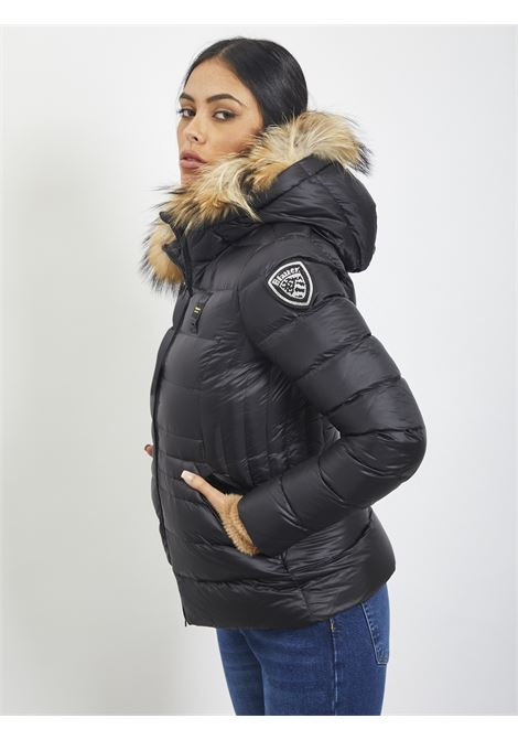 NYLON DOWN JACKET BLAUER | Quilted Jacket | 20WBLDC03084 999NERO